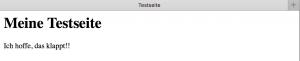 Apache2_Testseite